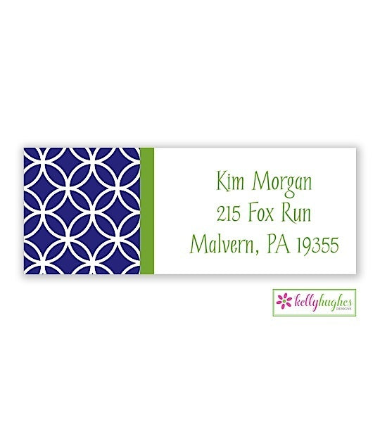 Clover Modern Address Labels