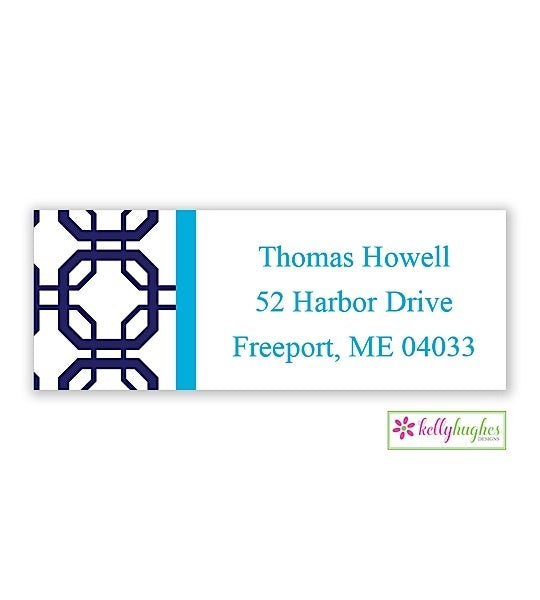 Abbott Modern Address Labels