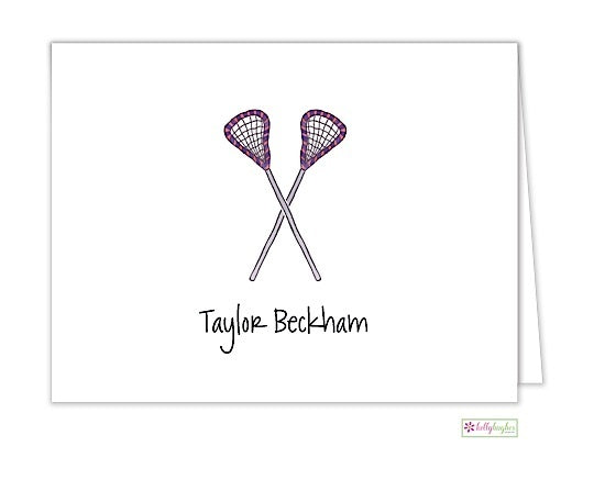 Lacrosse Classic Folded Notes