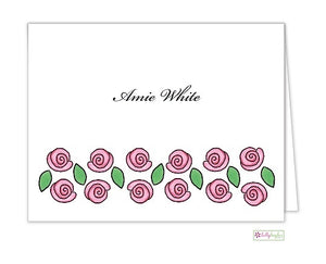 Rose Garden Classic Folded Notes