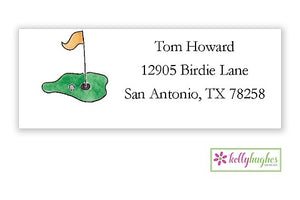 Tee It Up Classic Address Labels