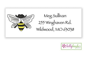 Queen Bee Classic Address Labels