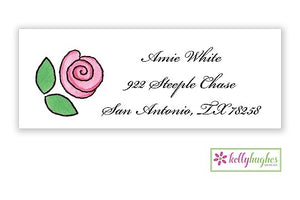 Rose Garden Classic Address Labels