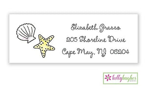 By The Seashore Classic Address Labels