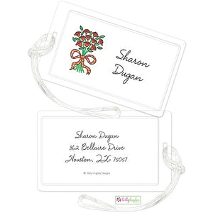 Personalized Coming up Roses Classic Luggage Tags