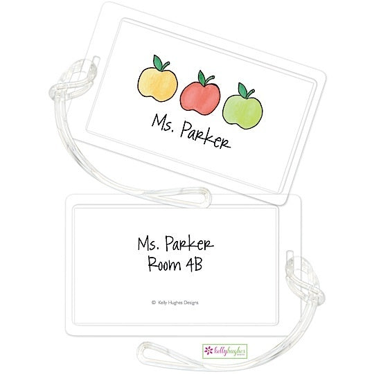 Personalized Apples to Apples Classic Luggage Tags