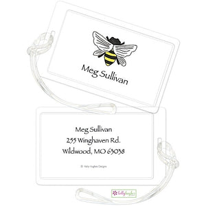 Personalized Queen Bee Classic Luggage Tags