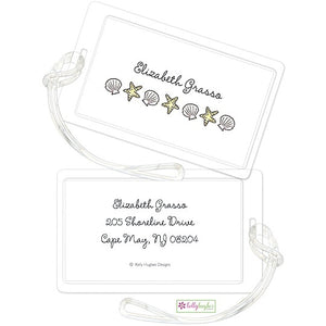 Personalized By The Seashore Classic Luggage Tags