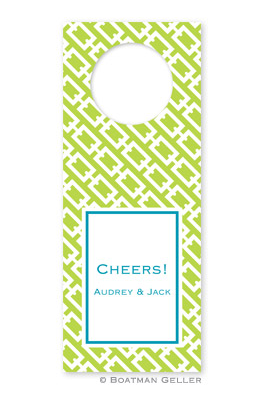 Chain Link Wine Tags