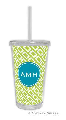 Chain Link Beverage Tumbler
