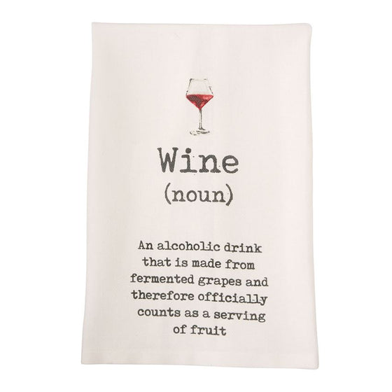 Wine Flour Sack Towels