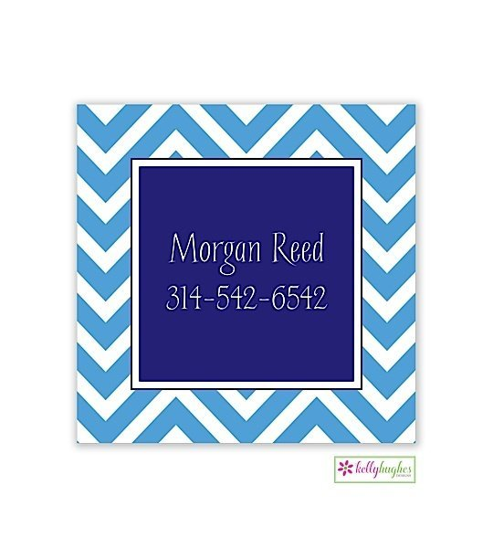Chevron Modern Enclosure Card
