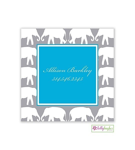 Elephant Modern Enclosure Card