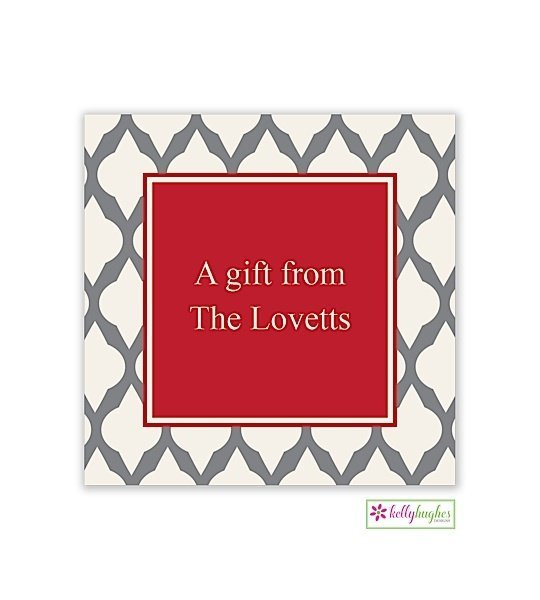 Lattice Gift Modern Gift Sticker