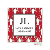 Lobsters Modern Gift Sticker