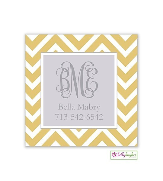 Chevron Modern Gift Sticker