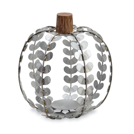 Tin Pumpkin Lanterns