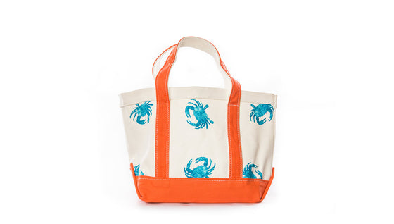 Small Blue Crab Shack Classic Tote