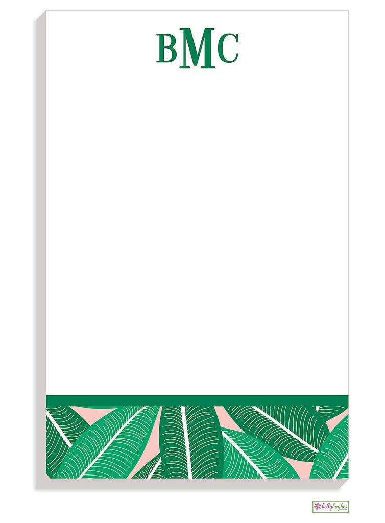Personalized Banana Leaf Modern Notepad