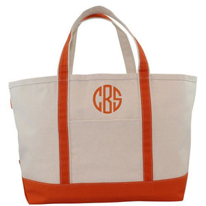 Personalized Large Boat Totes