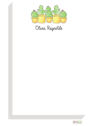 Personalized Cactus Garden Classic Notepad