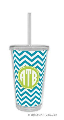 Chevron Beverage Tumbler