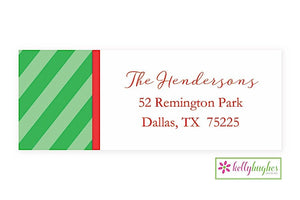 Jingle All The Way  - Christmas Holiday - Address Labels
