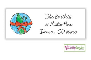 Peace On Earth  - Christmas Holiday - Address Labels