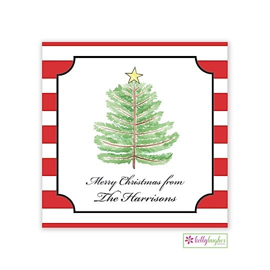 Oh Christmas Tree Holiday Gift Sticker
