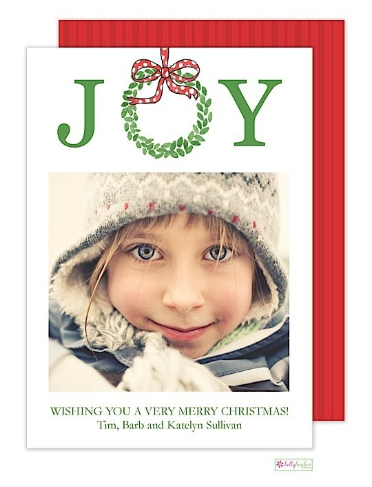 Joyful Holiday Photo Card