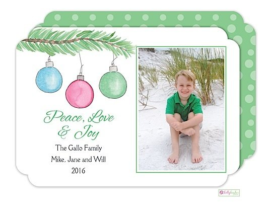 Trim The Tree Holiday Photo Card
