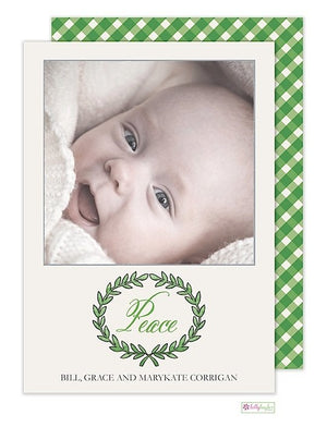 Olive Branch Holiday Photo Card