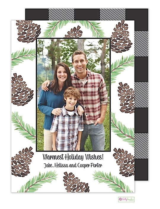 The Lodge Holiday Photo Card