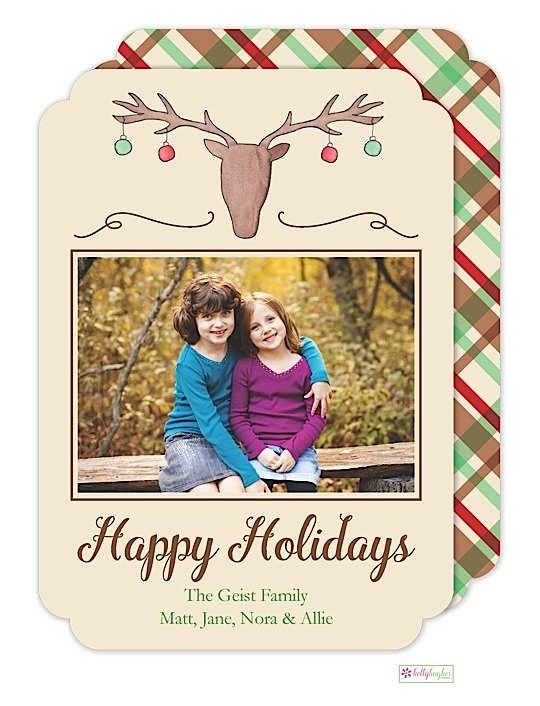 Cabin Christmas Holiday Photo Card