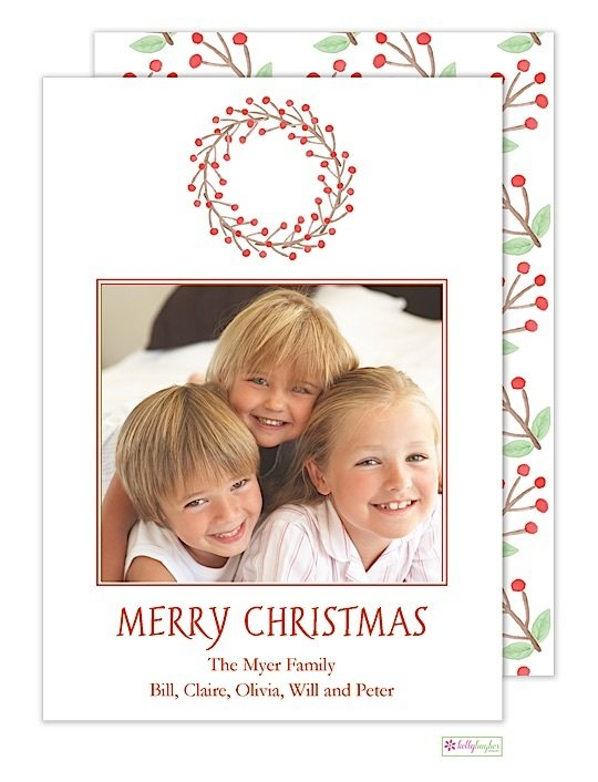 Winterberry Holiday Photo Card