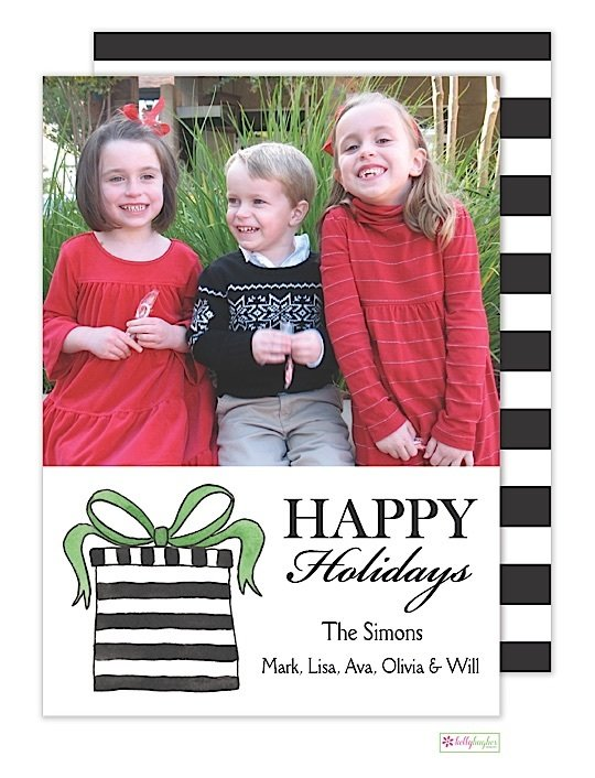 Surprise Holiday Photo Card