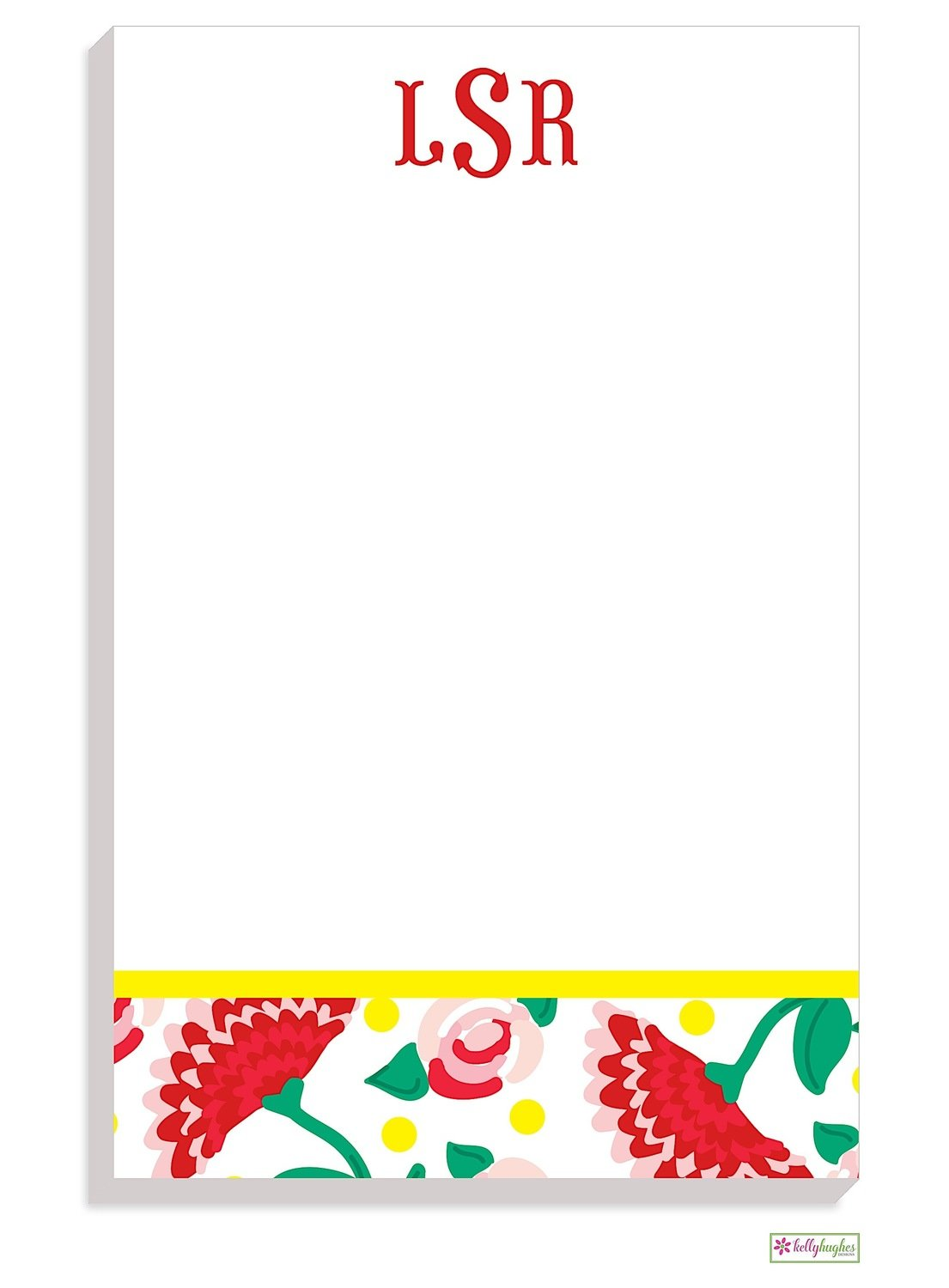 Personalized Flamenco Modern Notepad