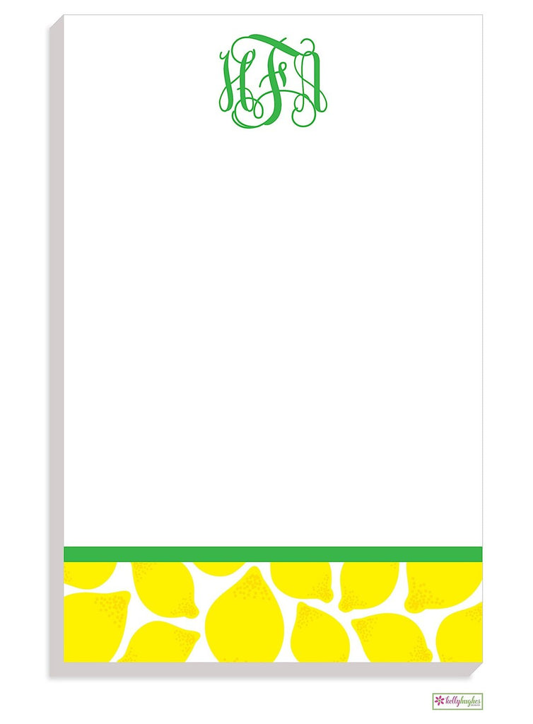 Personalized Lemonade Modern Notepad