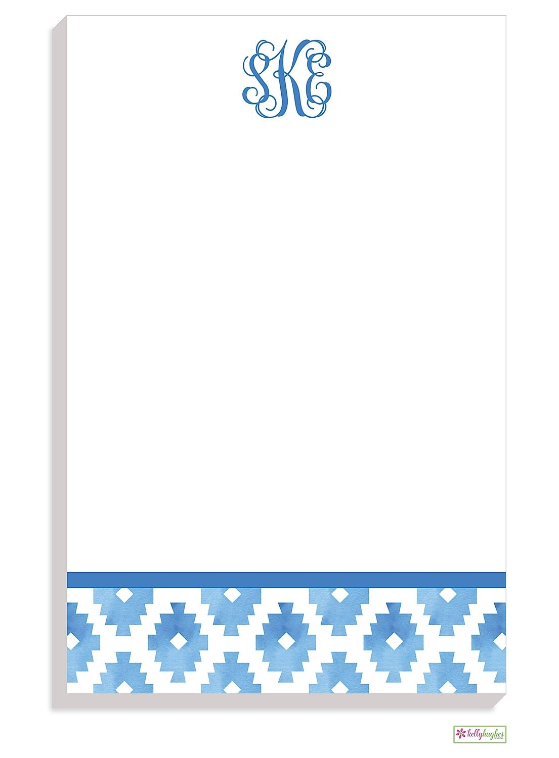 Personalized Aztec Modern Notepad