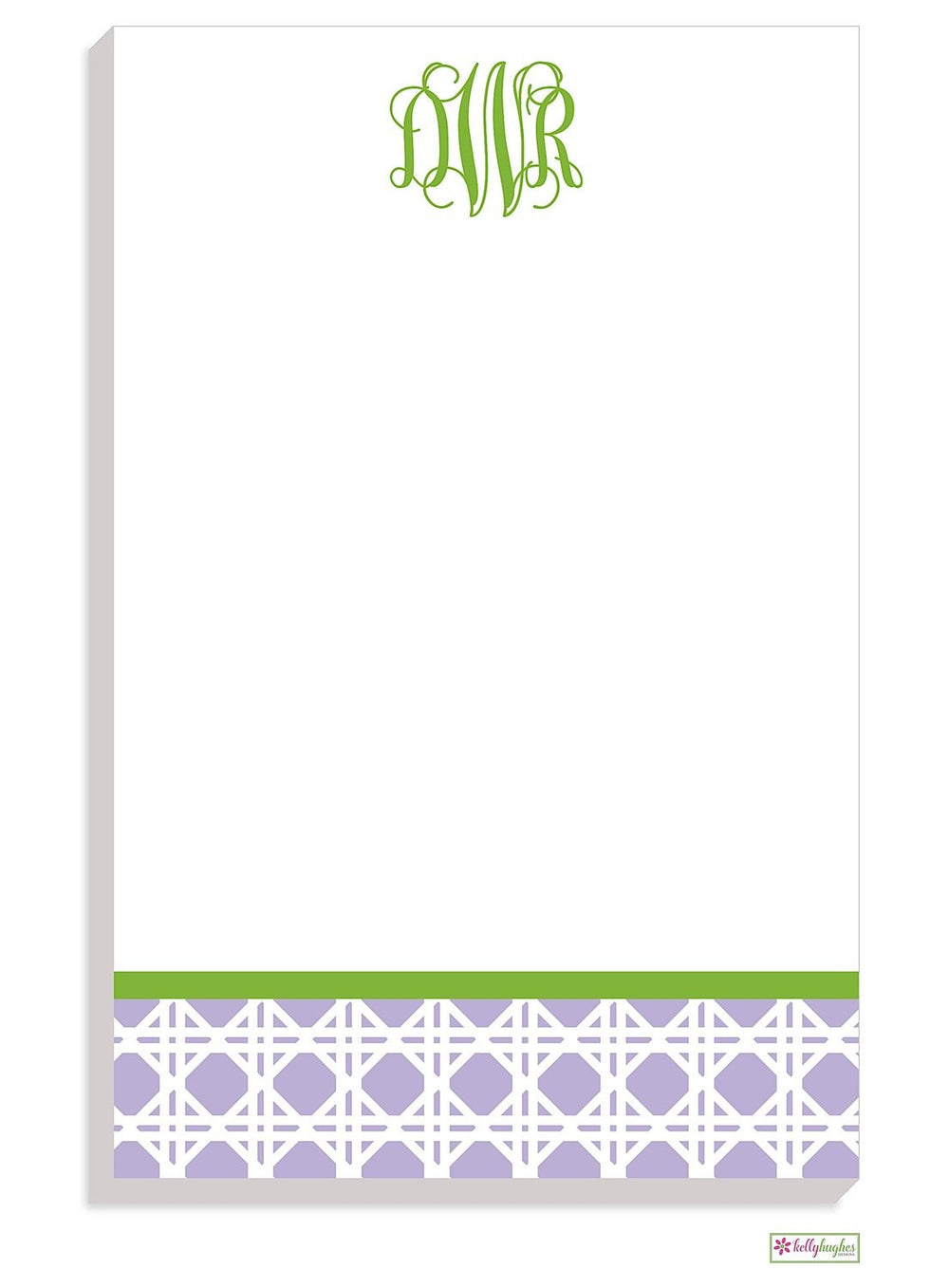 Personalized Caning Modern Notepad