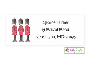 London Guards Classic Address Labels
