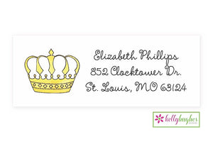 Queen of Everything Classic Address Labels