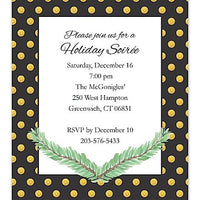 Art Deco - Holiday Invitation