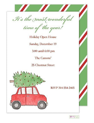 Holiday Road - Christmas Holiday Invitation