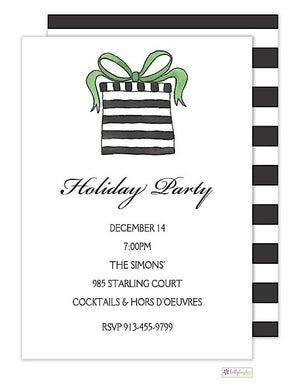 Surprise - Christmas Holiday Invitation