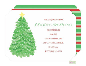Merry & Bright - Christmas Holiday Invitation