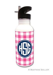 Classic Check Water Bottle