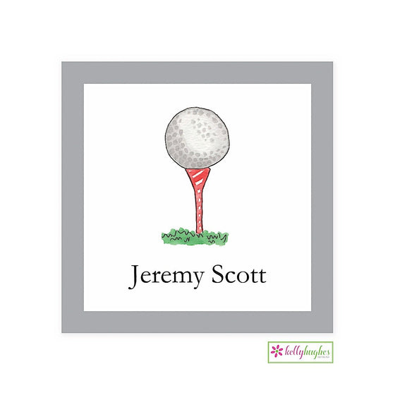 Golf Nut Classic Calling Card
