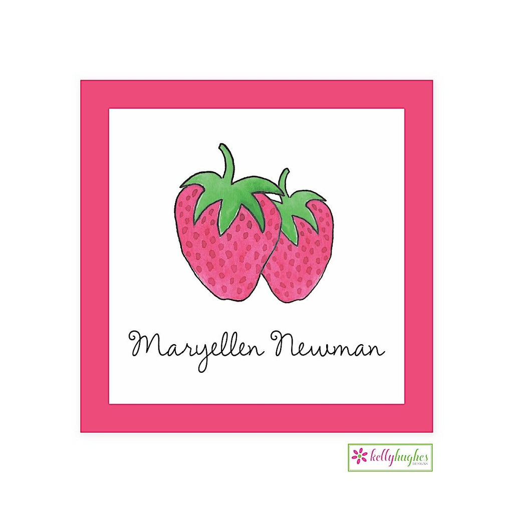 Strawberry Classic Calling Card