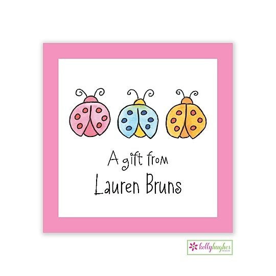 Luck Ladybugs Classic Calling Card
